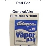 GeneralAire GA19 Replacement Pad for 900 & 1000