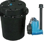 Little Giant WRS-6 , 1/3 HP, Submersible Utility Pump & Tank