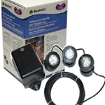 Beckett TR3LT10 Three 10 watt Garden Accent Light Kit