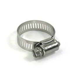 Stainless Steel Hose Clamps - 6 Pack